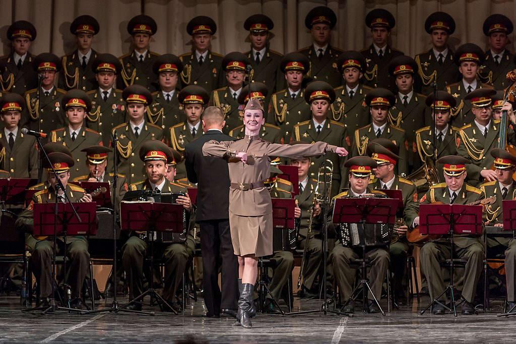 военный хор имени александрова фото съемка