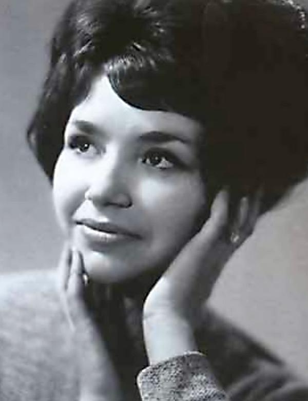 Людмила Вьюнкова (Маликова) в молодости