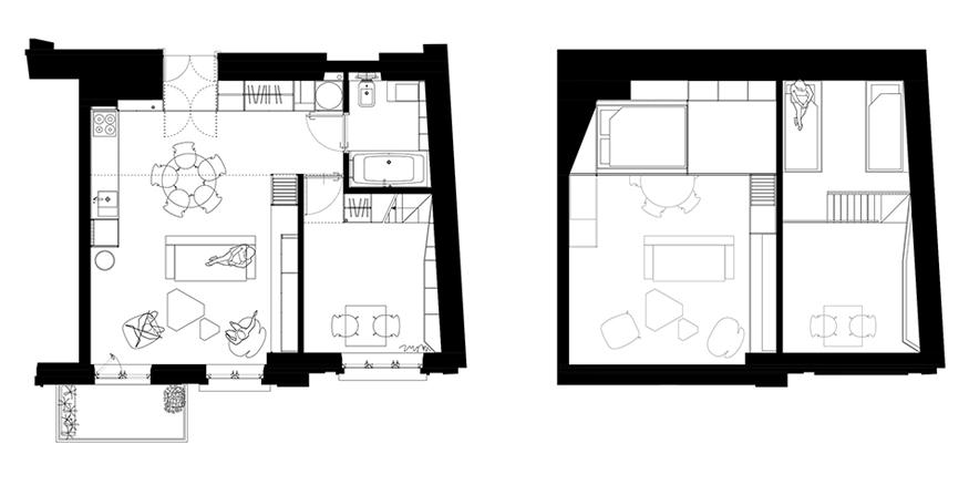 кухня входит в жилую площадь квартиры