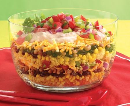Рецепты салатов на день рождения