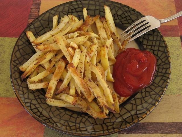 Картофель фри в домашних условиях на сковороде рецепт