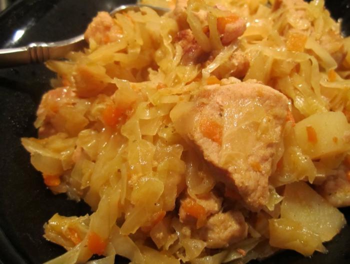 бигус рецепт из свежей капусты с картошкой
