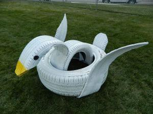 tire swan how to do