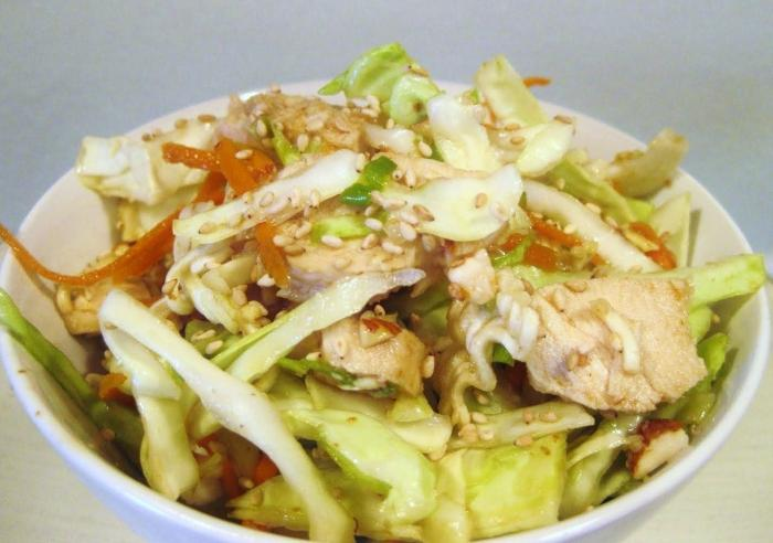 рецепты салатов из капусты и грибов