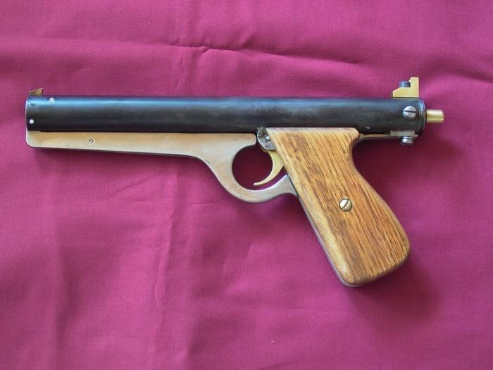 пистолет в домашних условиях