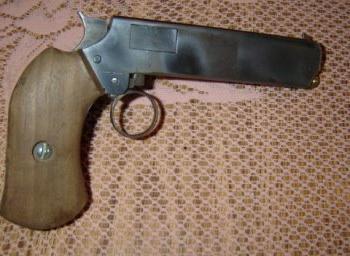 самодельный пистолет в домашних условиях