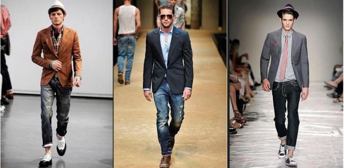 Пиджак джинсы кеды женские