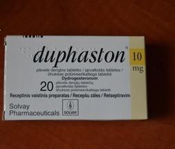 Djufaston: side effects