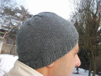 вязание мужских шапок спицами по универсальной схеме Sylru