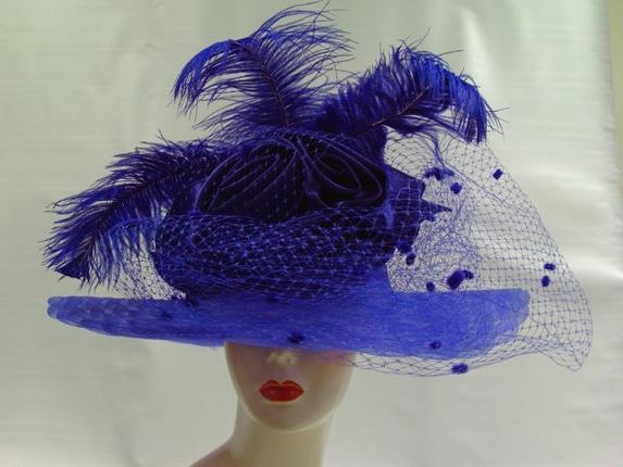 шляпки с вуалью своими руками
