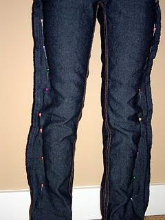 Как ушить джинсы: несколько советов