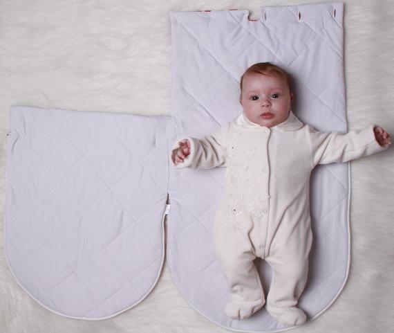 Конверт для новорожденного летний своими руками