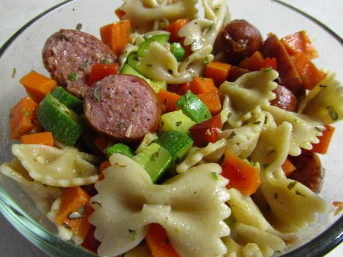 Smoked Sausage Salad