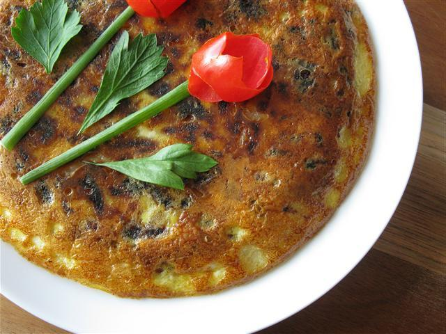 how to cook an omelet in the oven