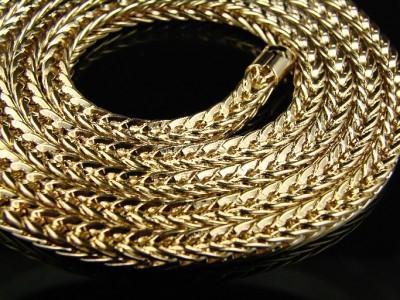 золотые цепи виды плетения