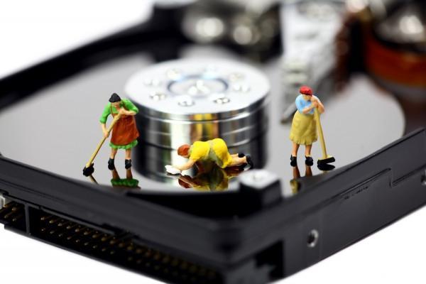 очистить диск с