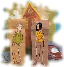 how property is divided upon divorce