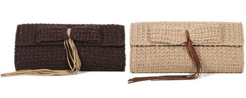 Knitted clutches