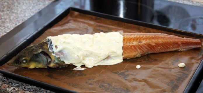 стерлядь в фольге рецепты приготовления