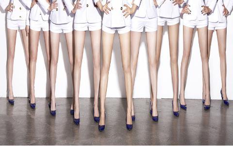 как сделать худые ноги за неделю