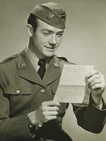 письмо не знакомцу в армию
