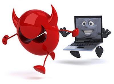 the virus is blocking the Internet