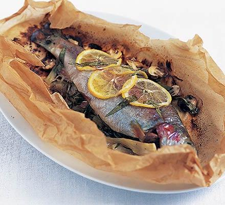 fried rainbow trout