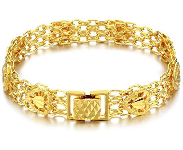 картинки золотых браслетов на руку женские фото сорокаминутном ролике