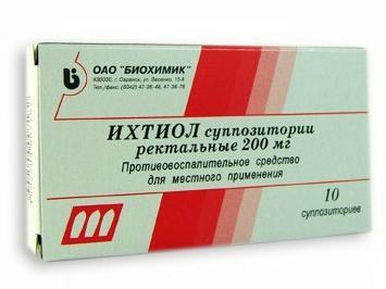 ихтиол в лечении простатита