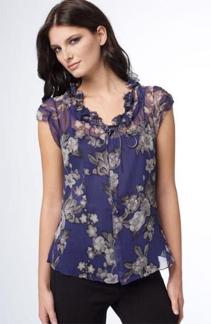 Сшить блузку своими руками для полных выкройка