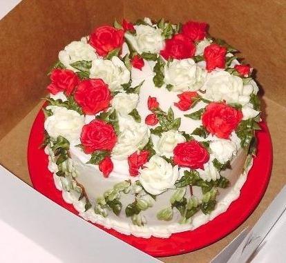 Торт с каркаде фото 4