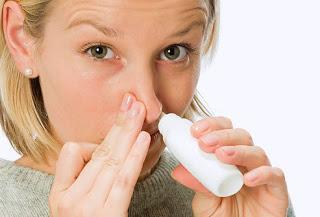 antibiotic nasal spray