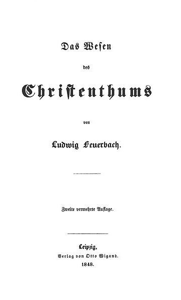thesis on feuerbach sparknotes