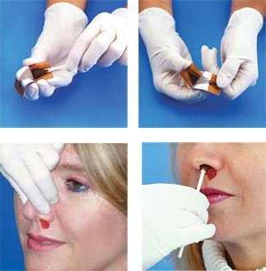 глисты в носу симптомы лечение