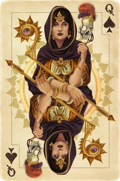 how to call the queen of spades