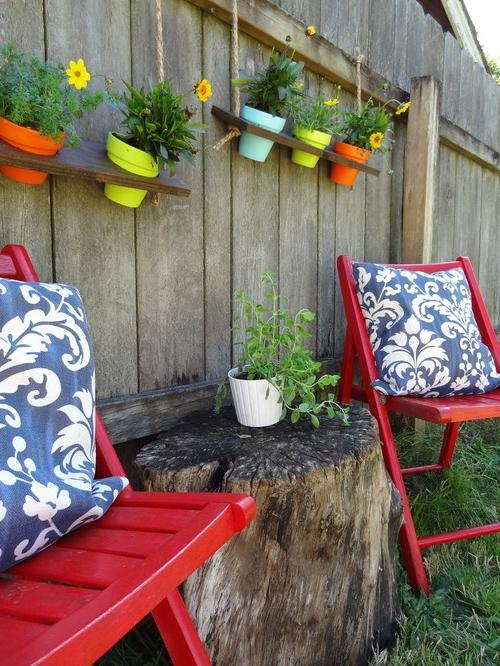 DIY crafts for the garden
