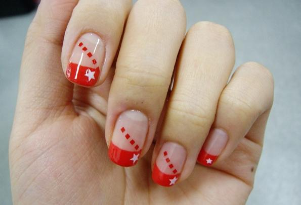 Ногти короткие простые рисунки