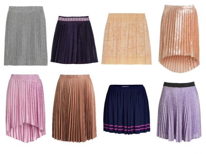 Плиссе юбка как шить