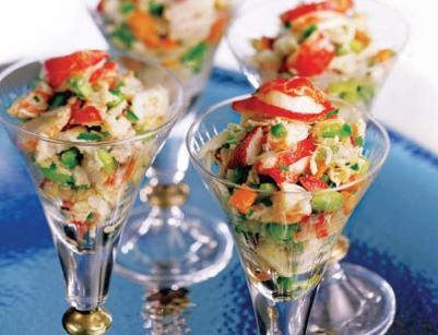 салат из морепродуктов из морской коктейль рецепты