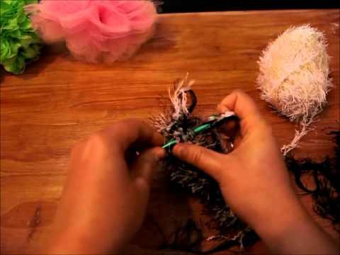Вязание из травки