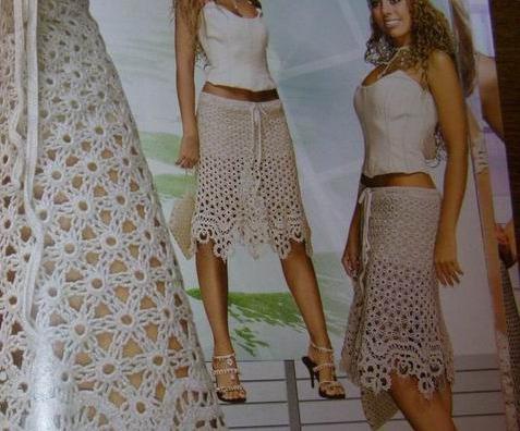 юбка крючком - Самое