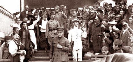 interim government crises 1917