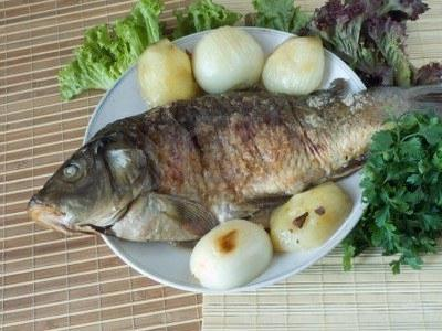 how to cook carp
