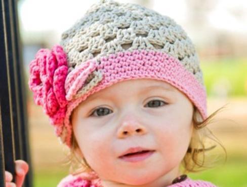 крючком детские шапочки фото