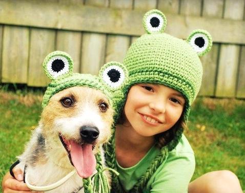 Children's summer crochet hats