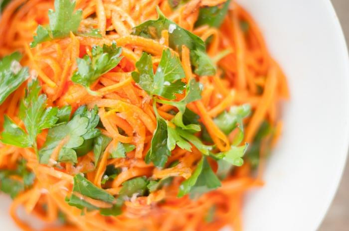 корейский салат из моркови рецепт с фото