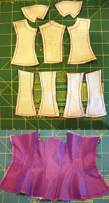 Как сшить корсет своими руками - Элитное женское белье