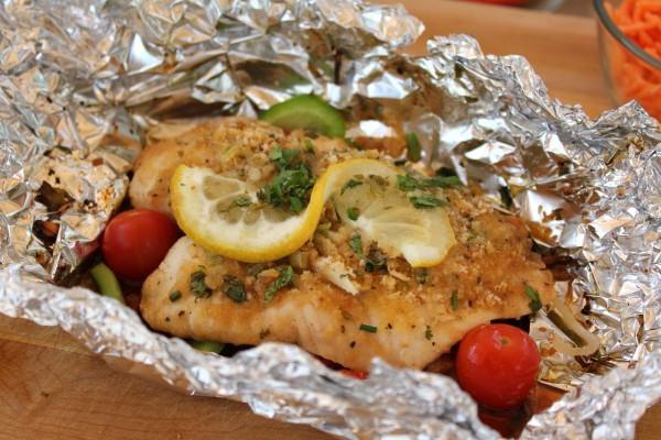 филе рыбы в фольге рецепт с фото