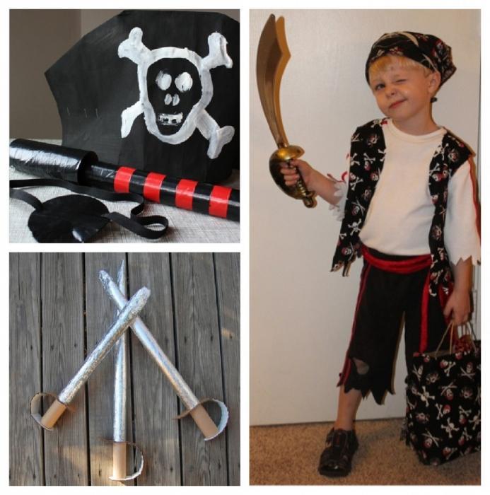 Костюм пирата своими руками храбрый