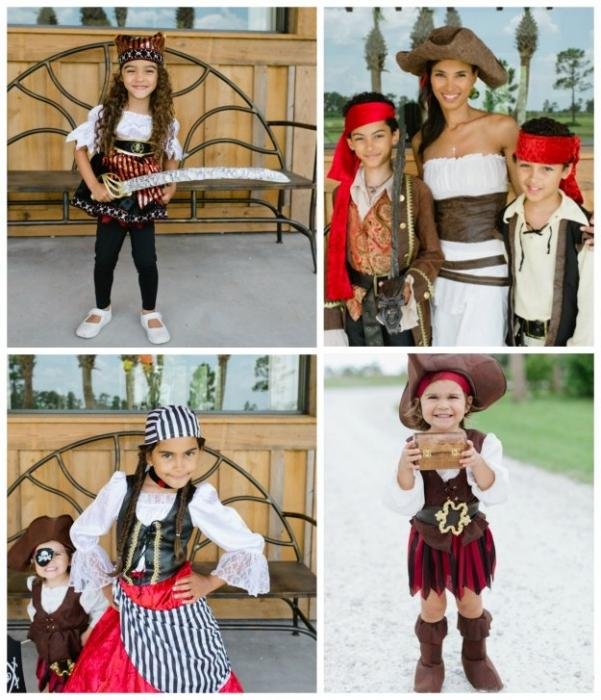 как сделать пиратский костюм